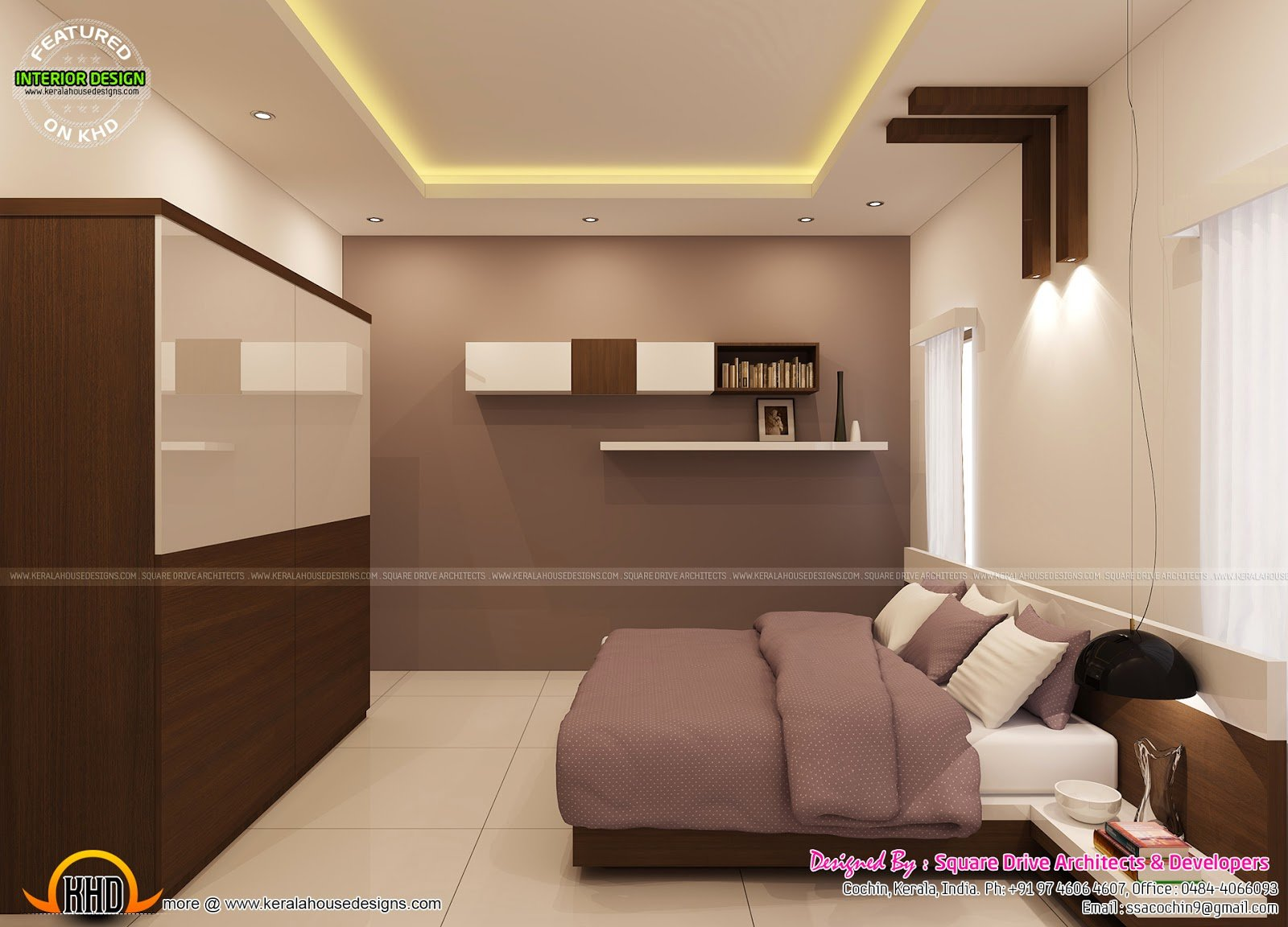 Best Bedroom Interior Decoration Kerala Home Design And Floor With Pictures