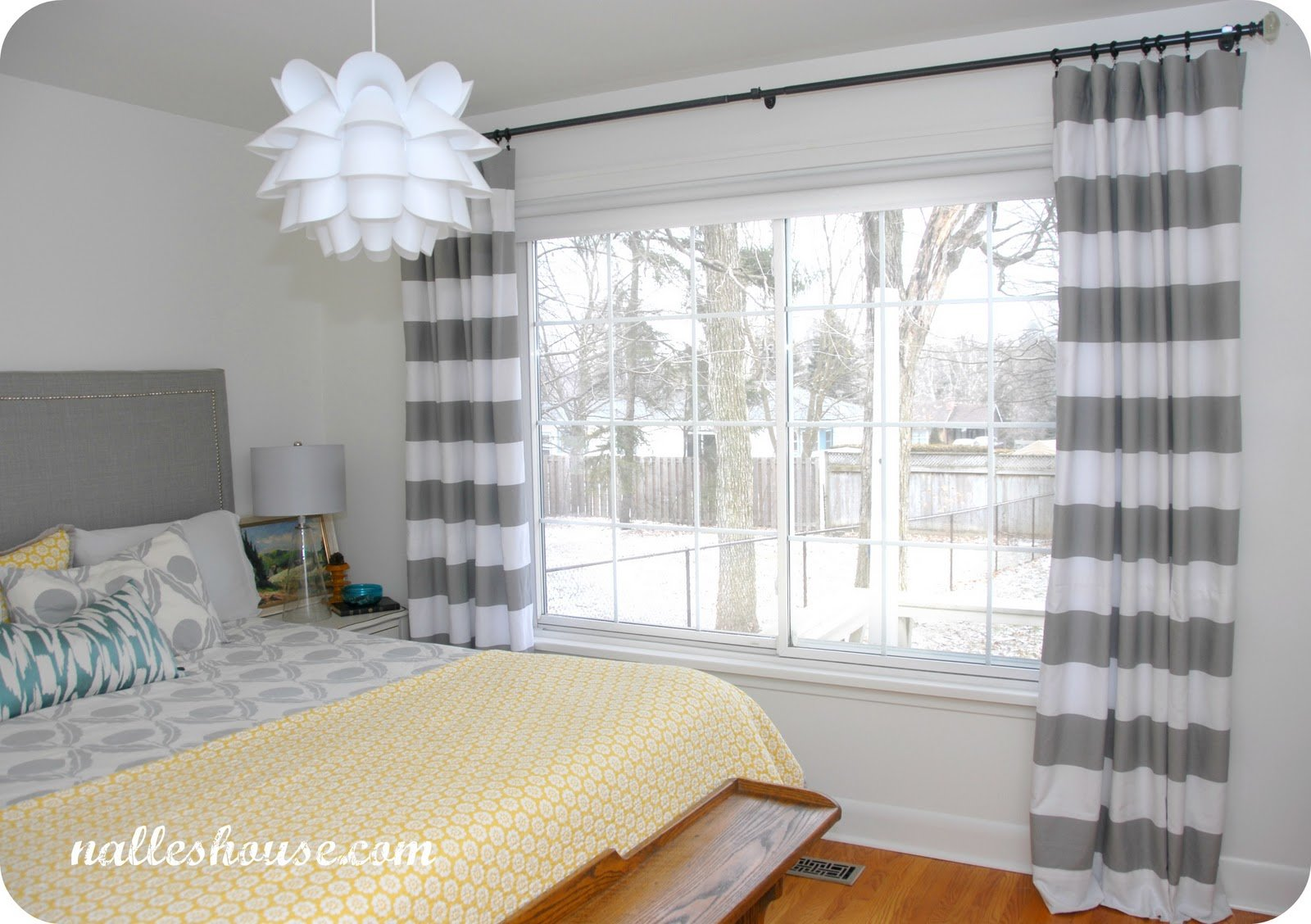 Best Nalle S House Master Bedroom Progress Curtains With Pictures