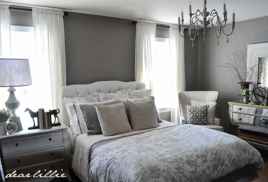 Best Dear Lillie Our Gray Guest Bedroom And A Full Source List With Pictures