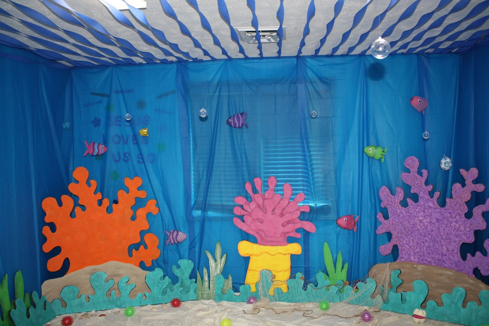 Best Eager Little Mind Under The Sea Decorations For Vbs With Pictures