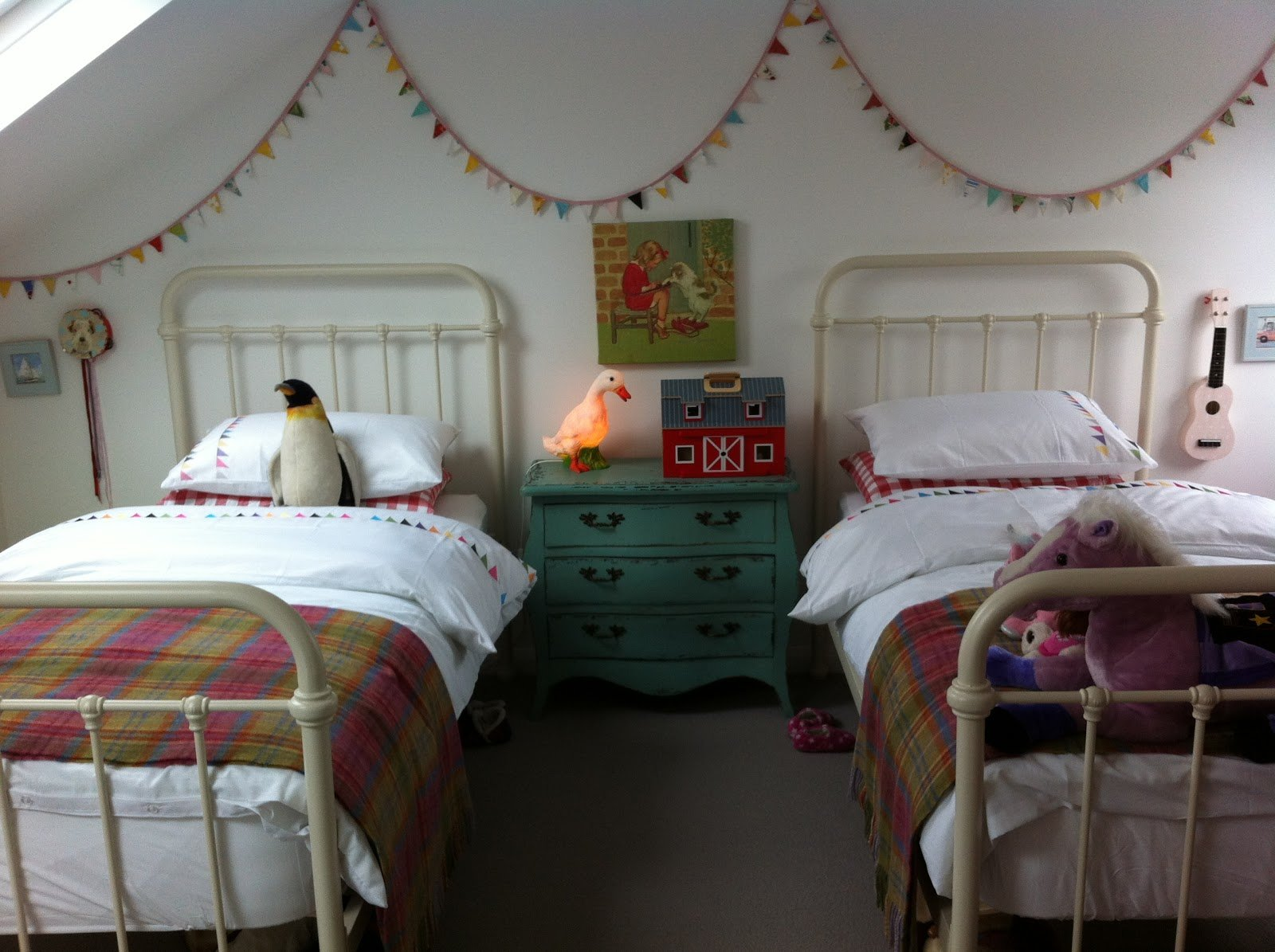 Best The Boo And The Boy Vintage Inspired Shared Girls Room With Pictures