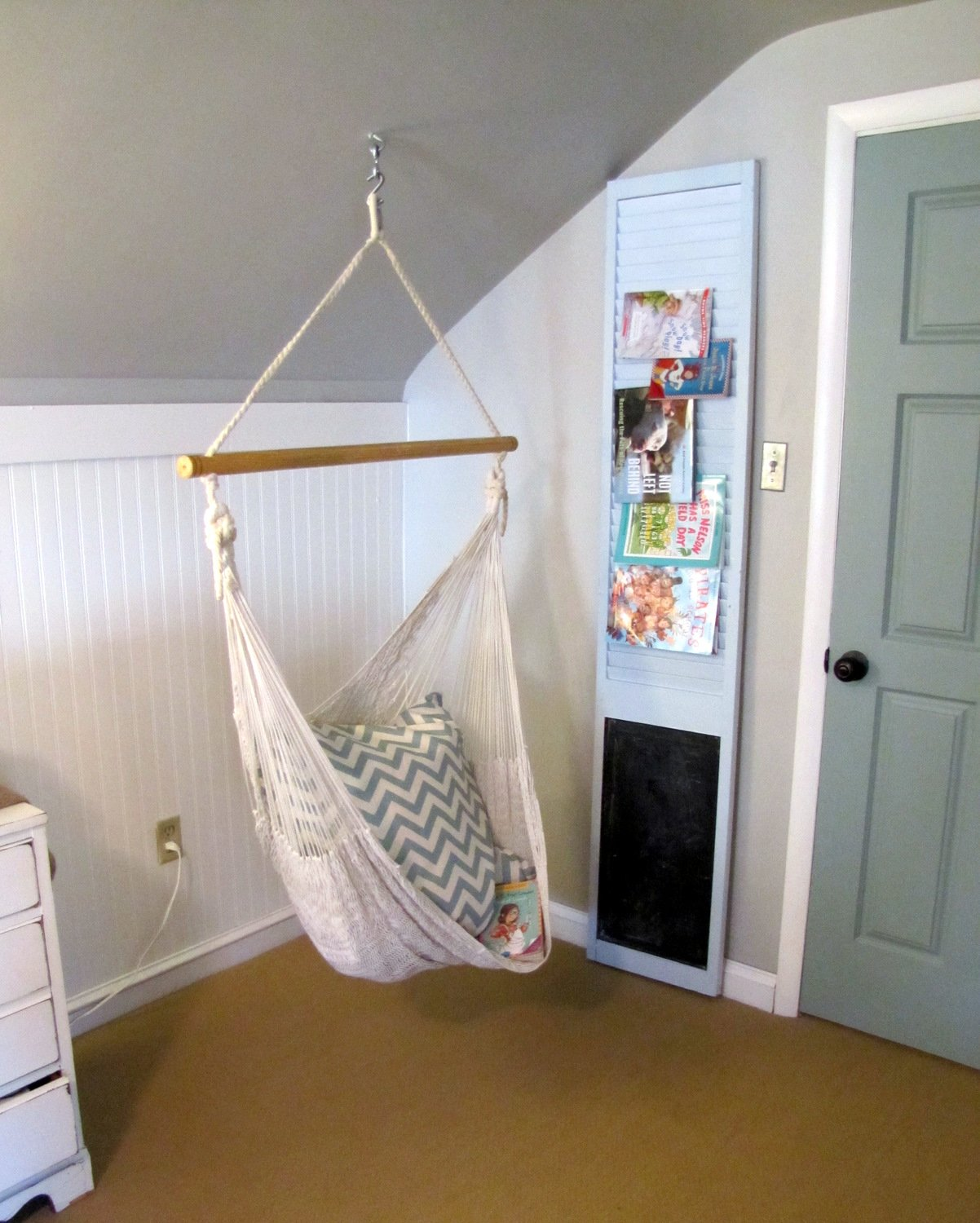 Best A Swing For The Girl S Room The Painted Home By With Pictures