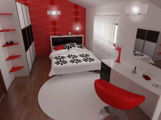Best Louise Black White And Red Decor With Pictures