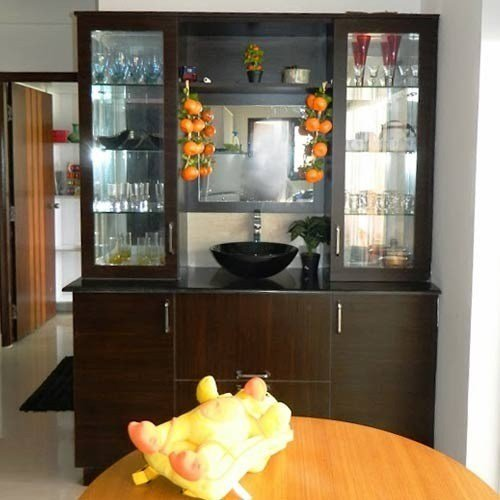 Best Wooden Crockery Shelves Manufacturer From Bengaluru With Pictures