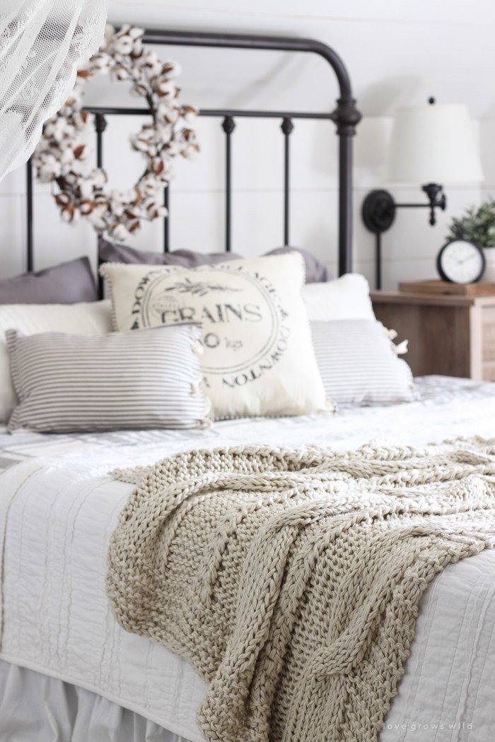 Best Fall Bedroom Fall Into Home Tour Love Grows Wild With Pictures