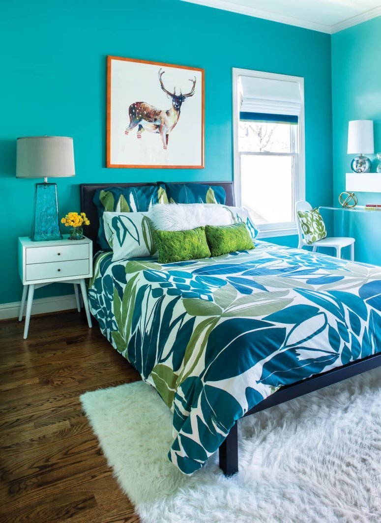 Best Turquoise Room Ideas And Inspiration To Brighten Up Your House With Pictures
