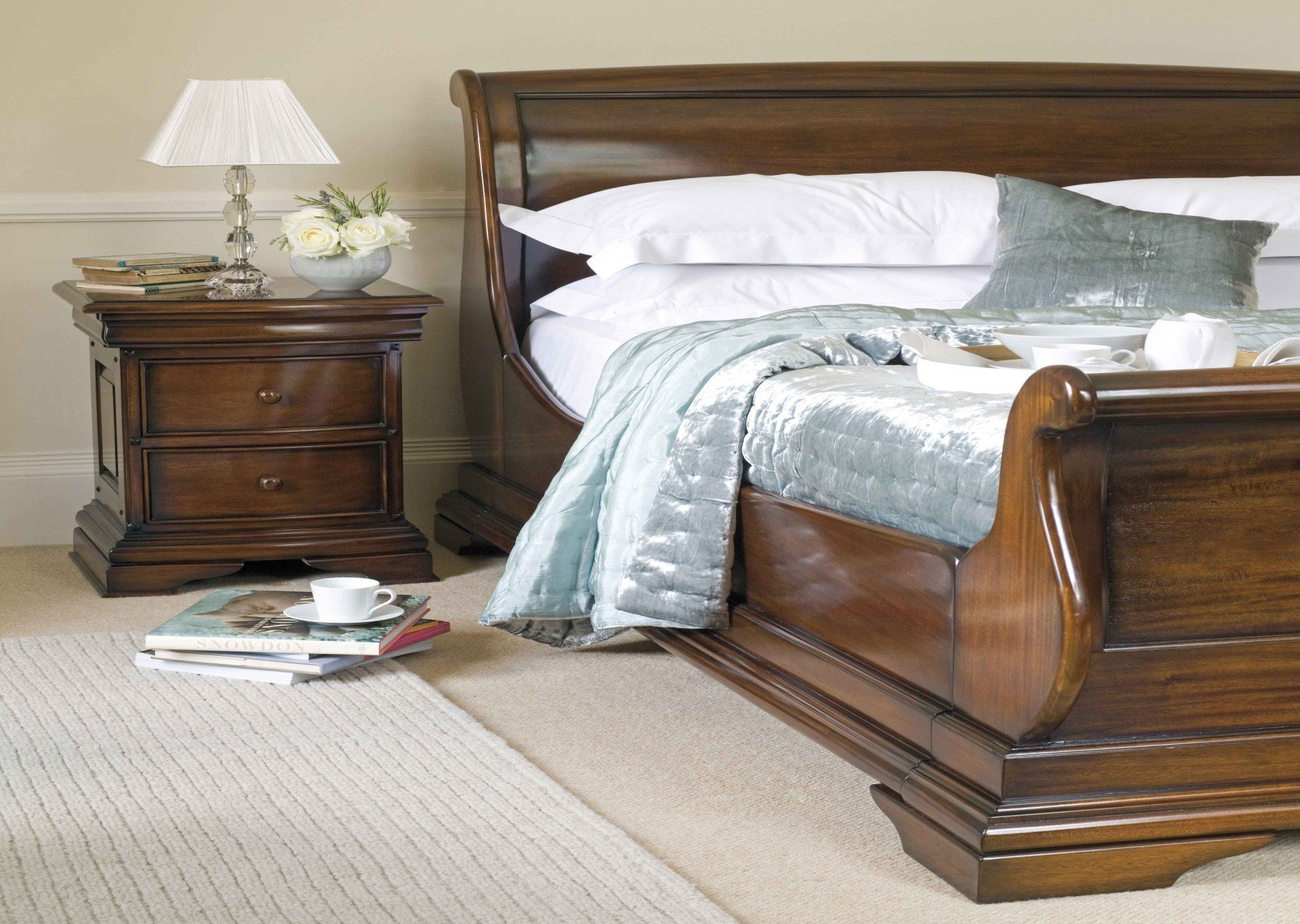 Best Normandie Bedroom Made From Solid Indonesian Mahogany And Veneers With Pictures