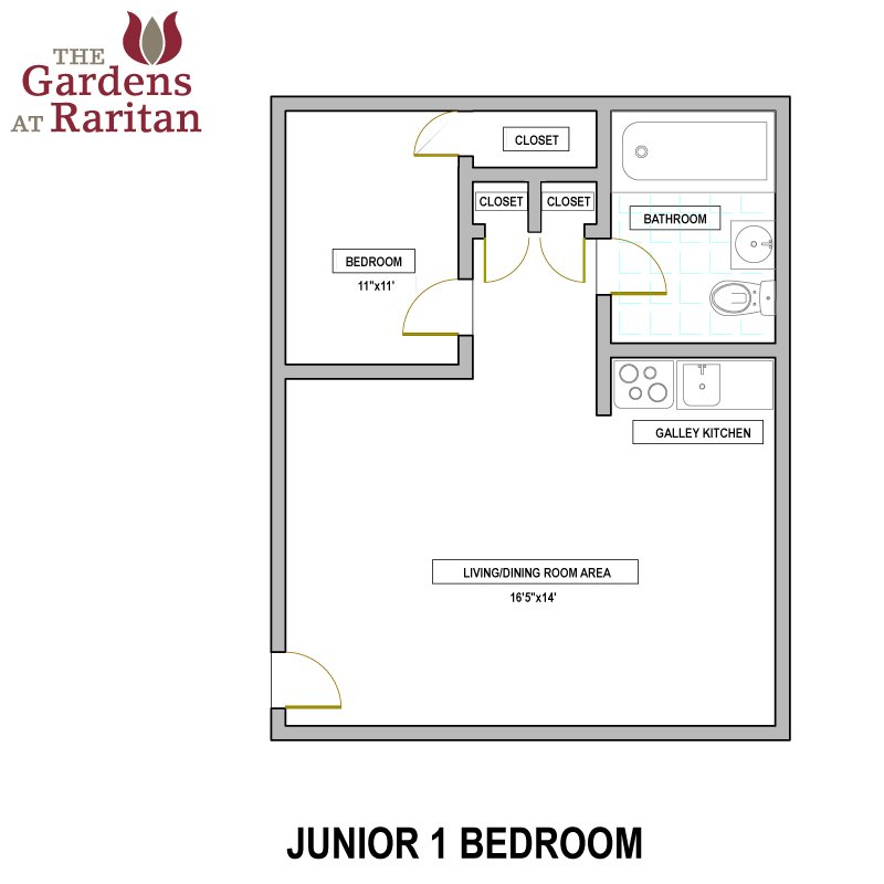 Best The Gardens At Raritan Availability Floorplans The With Pictures