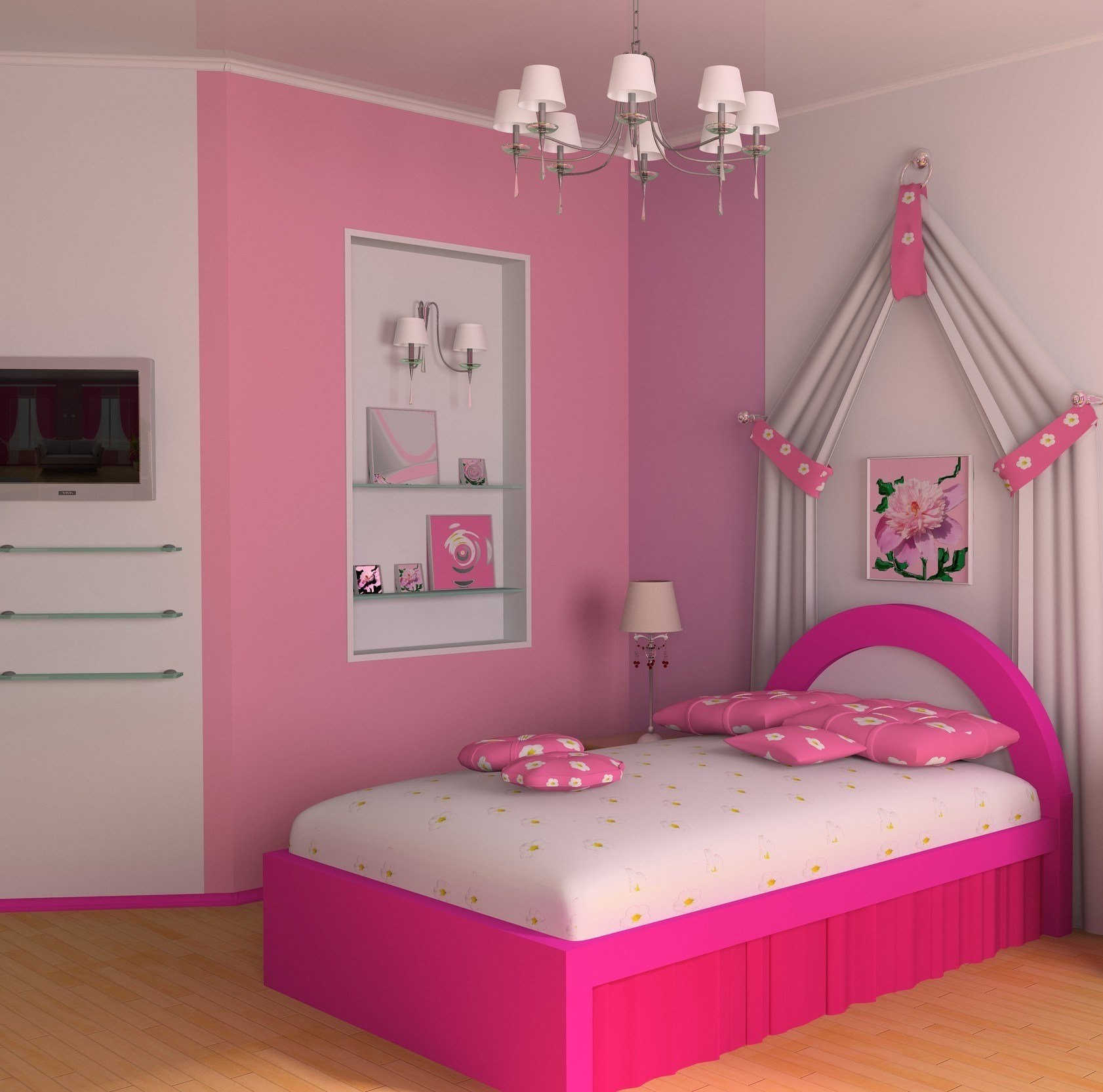 Best 20 Best Modern Pink Girls Bedroom Theydesign Net With Pictures