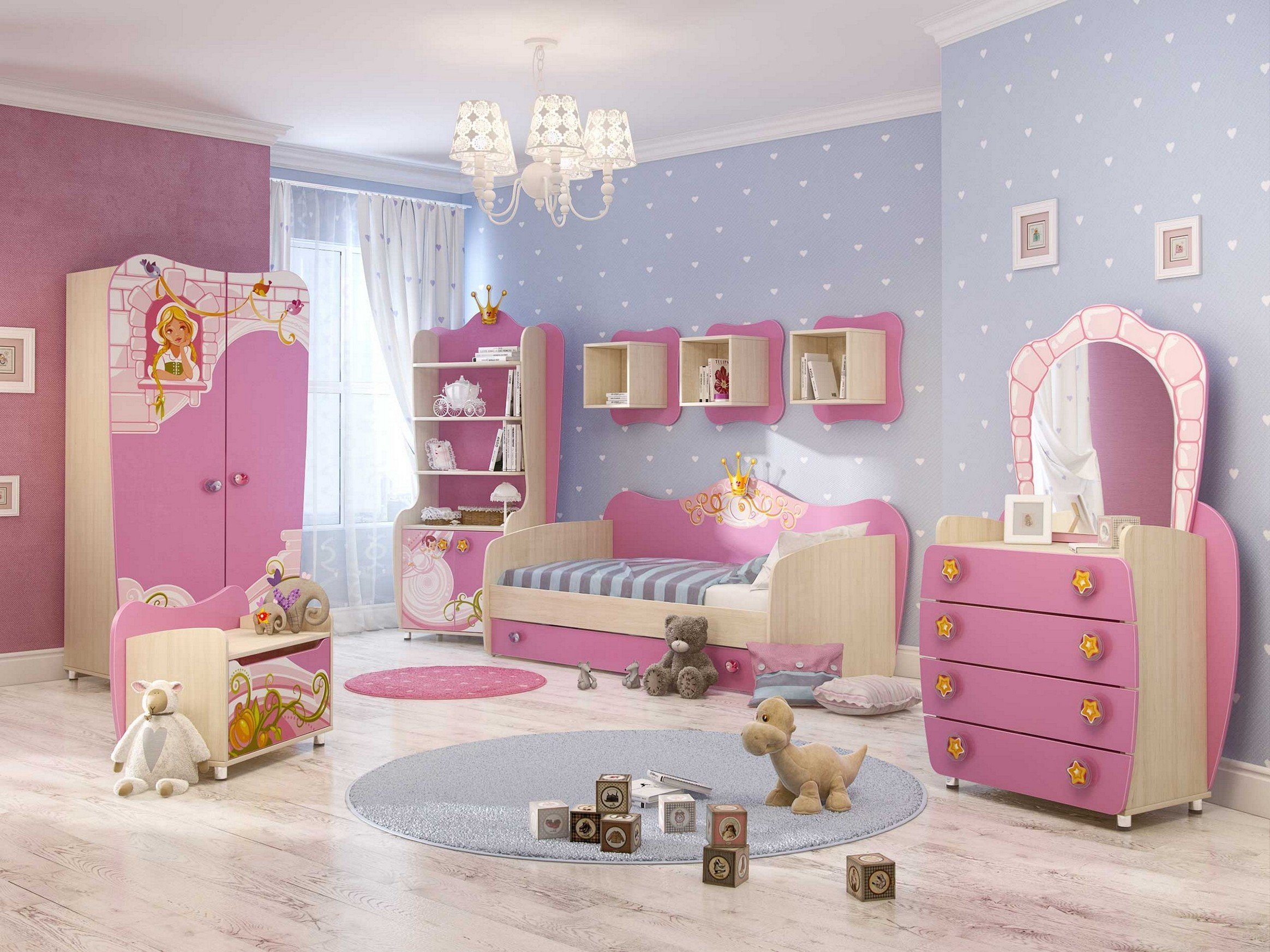 Best Top 10 Girls Bedroom Paint Ideas 2017 Theydesign Net Theydesign Net With Pictures