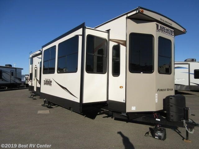 Best New Forest River Wildwood Lodge Park Model Trailer With Pictures