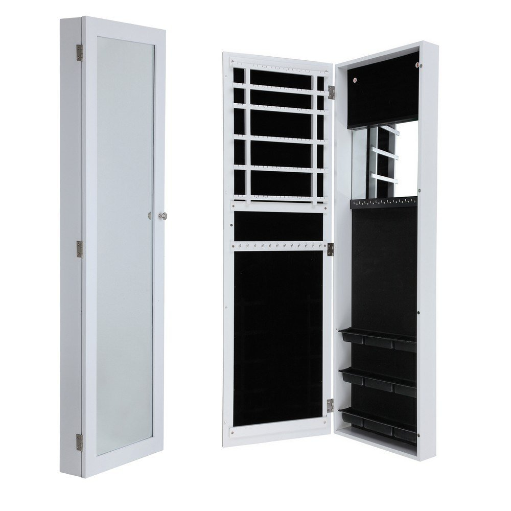 Best Homegear Wall Mounted Jewellery Cabinet Full Length With Pictures