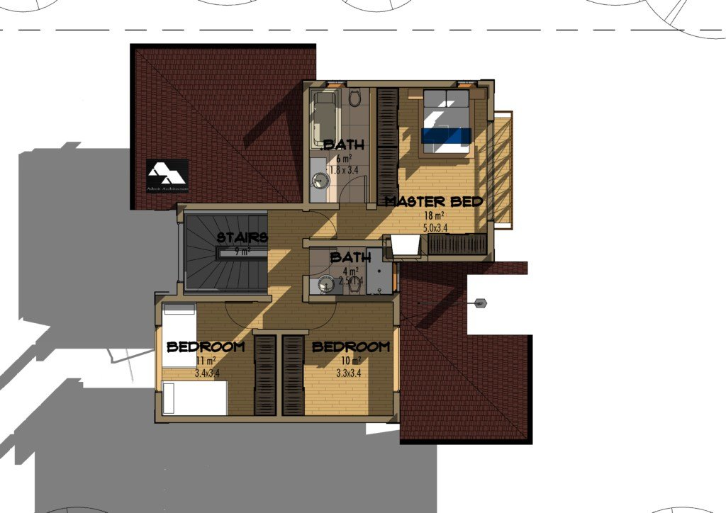 Best 4 Bedroom Juja Edge House Plan David Chola Architect With Pictures