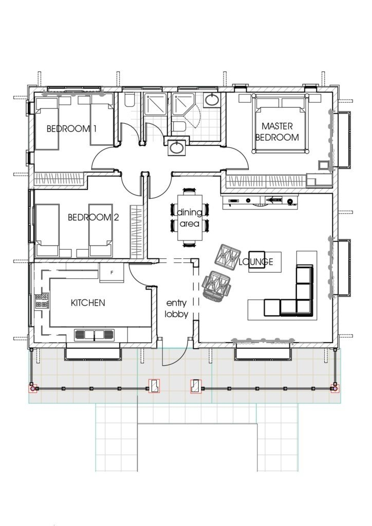Best House Plans In Kenya 3 Bedroom Bungalow House Plan David Chola Architect With Pictures