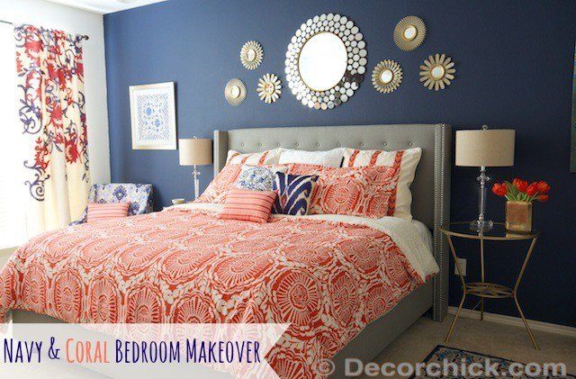 Best Surprise I Redid Our Master Bedroom Again Navy And With Pictures