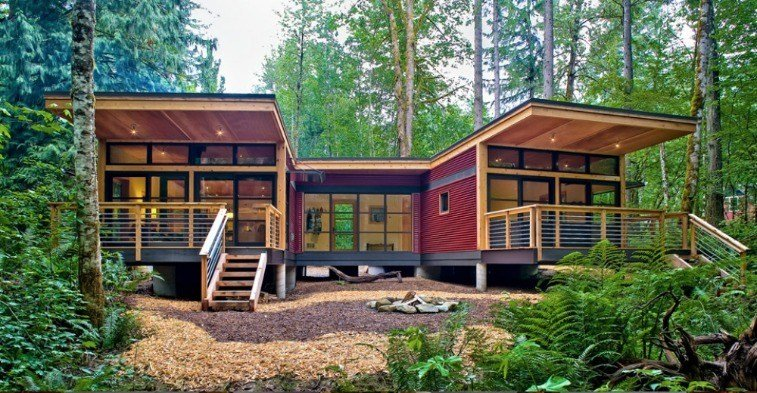 Best Prefab Modern House The M2 By Method Homes With Pictures