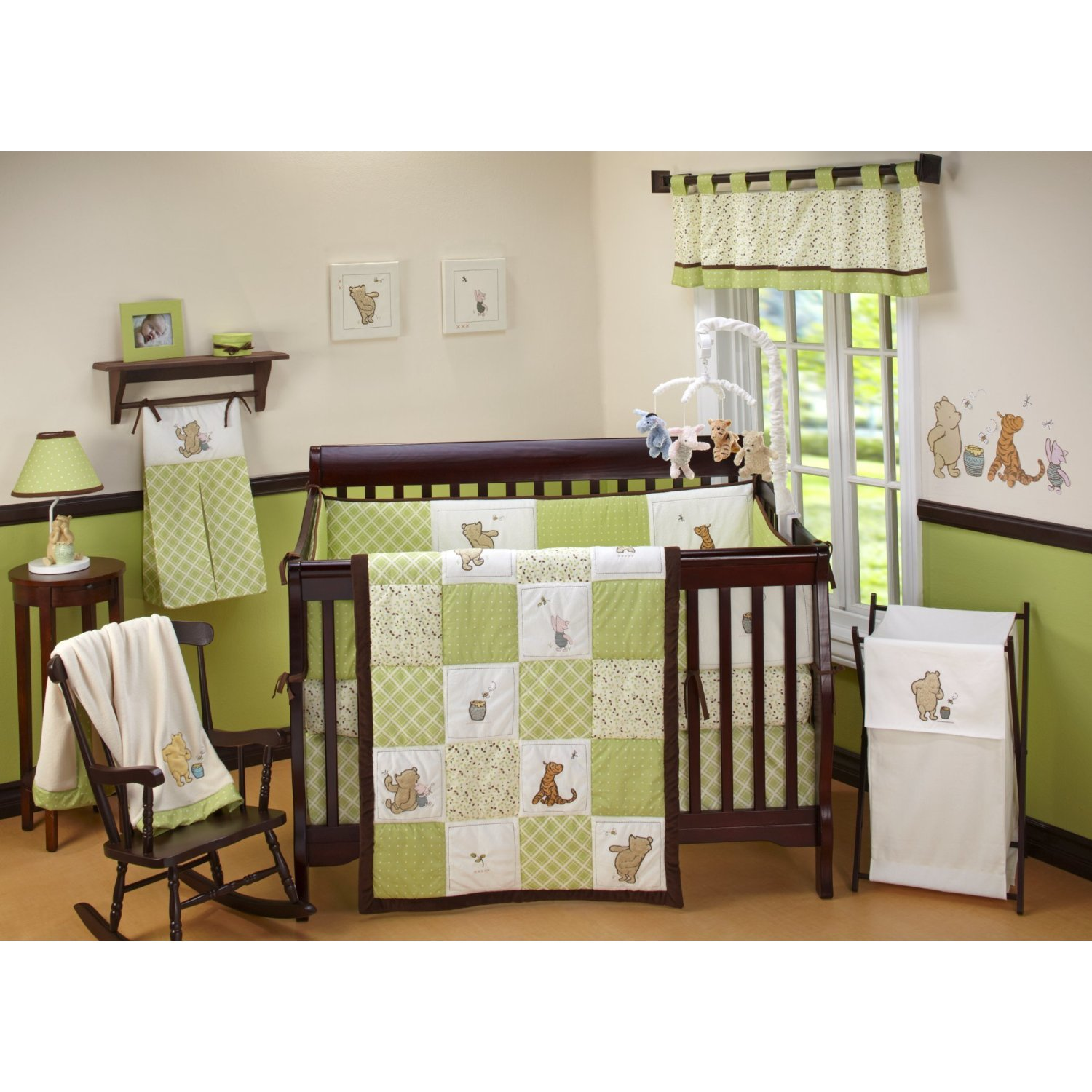 Best Nursery Room Ideas Winnie The Pooh Crib Bedding Set With Pictures