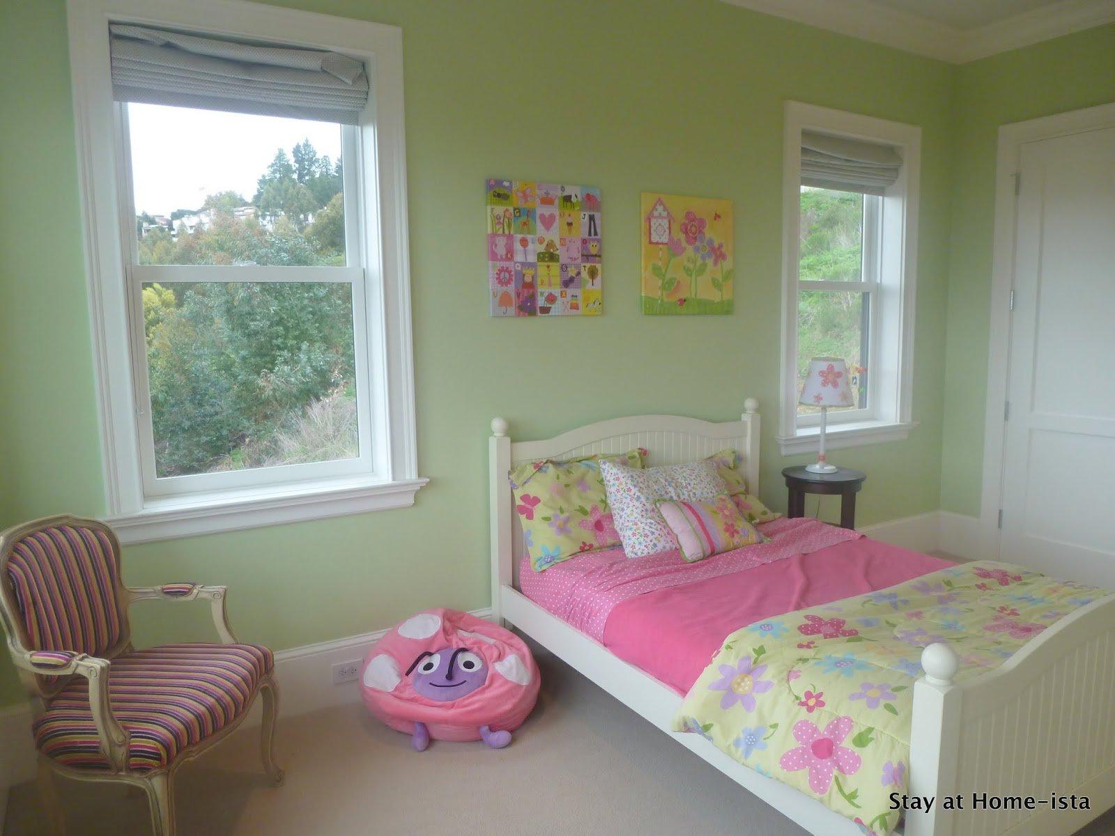 Best Stay At Home Ista Little Girl S Butterfly Bedroom With Pictures