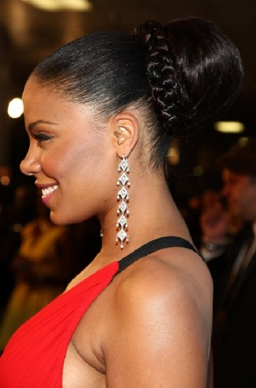 Free African American Hairstyles Trends And Ideas Cute Bun Wallpaper
