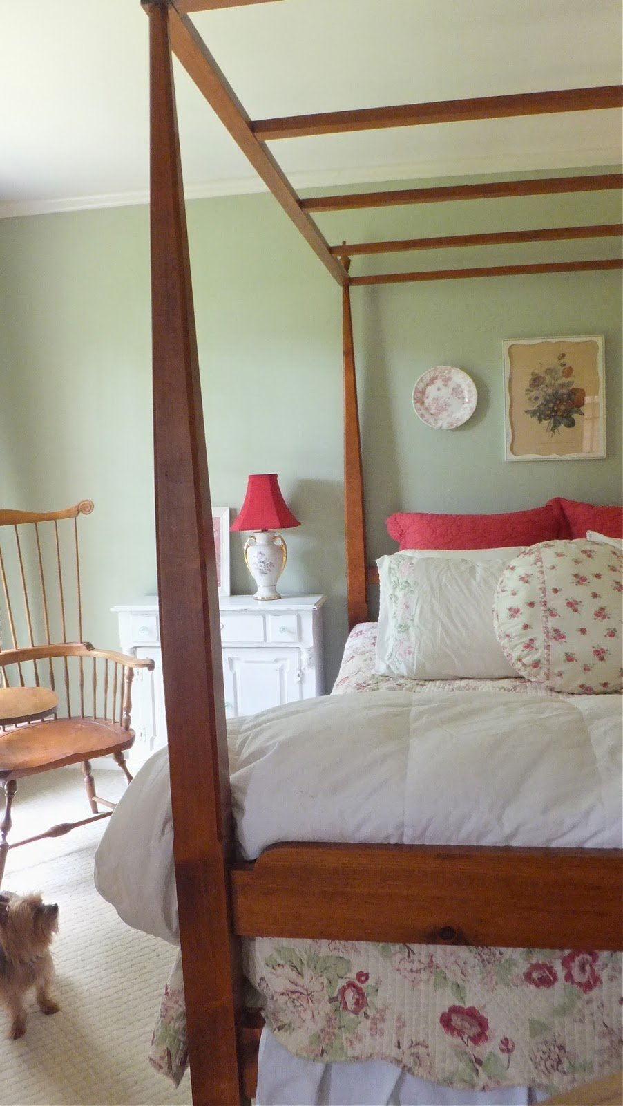 Best Ash Tree Cottage A Peak At Master Bedroom Pinks With Pictures