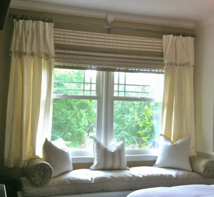 Best Foundation Dezin Decor Bay Window Curtain Treatments With Pictures