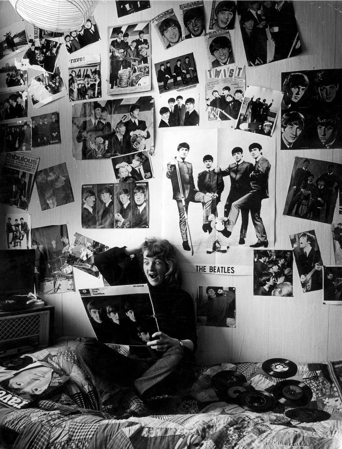 Best Meet The Beatles For Real I Love This Fan S Room With Pictures