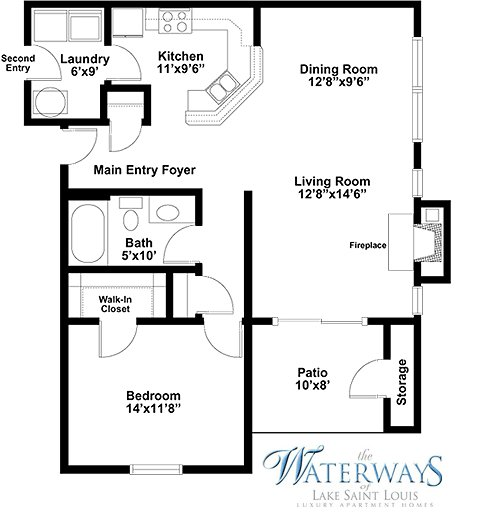 Best Small One Bedroom Apartment Floor Plans Home Decor Ideas With Pictures