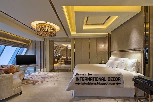 Best Contemporary Pop False Ceiling Designs For Bedroom 2015 With Pictures