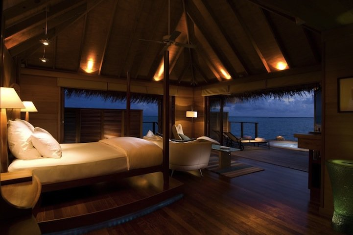 Best Underwater Bedroom In Maldives Conrad Maldives Rangali With Pictures
