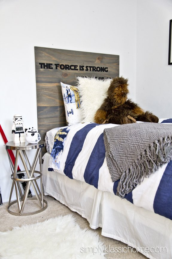 Best Boy S Industrial Star Wars Bedroom Makeover Reveal With Pictures