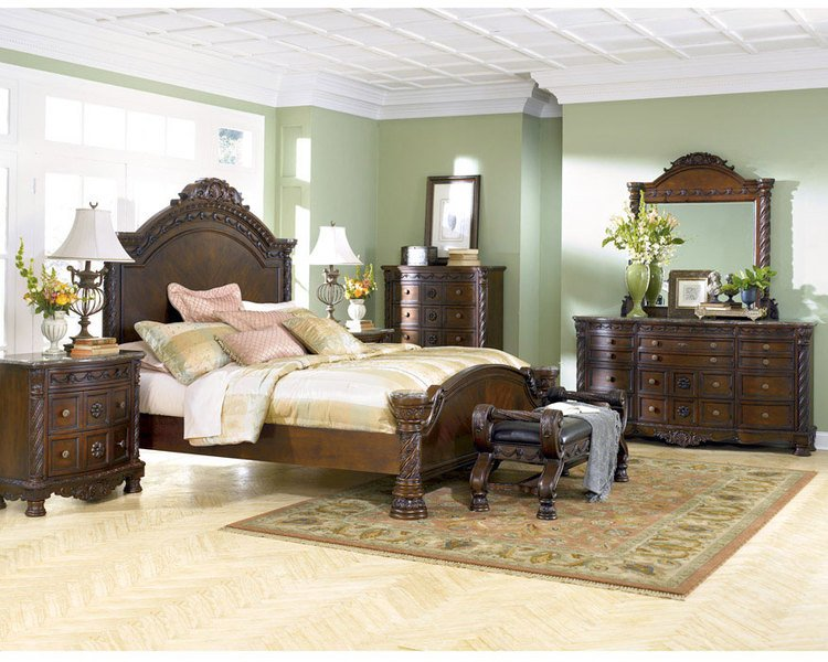 Best Bedroom Furniture Discounts Ashley North Shore 6 Piece With Pictures