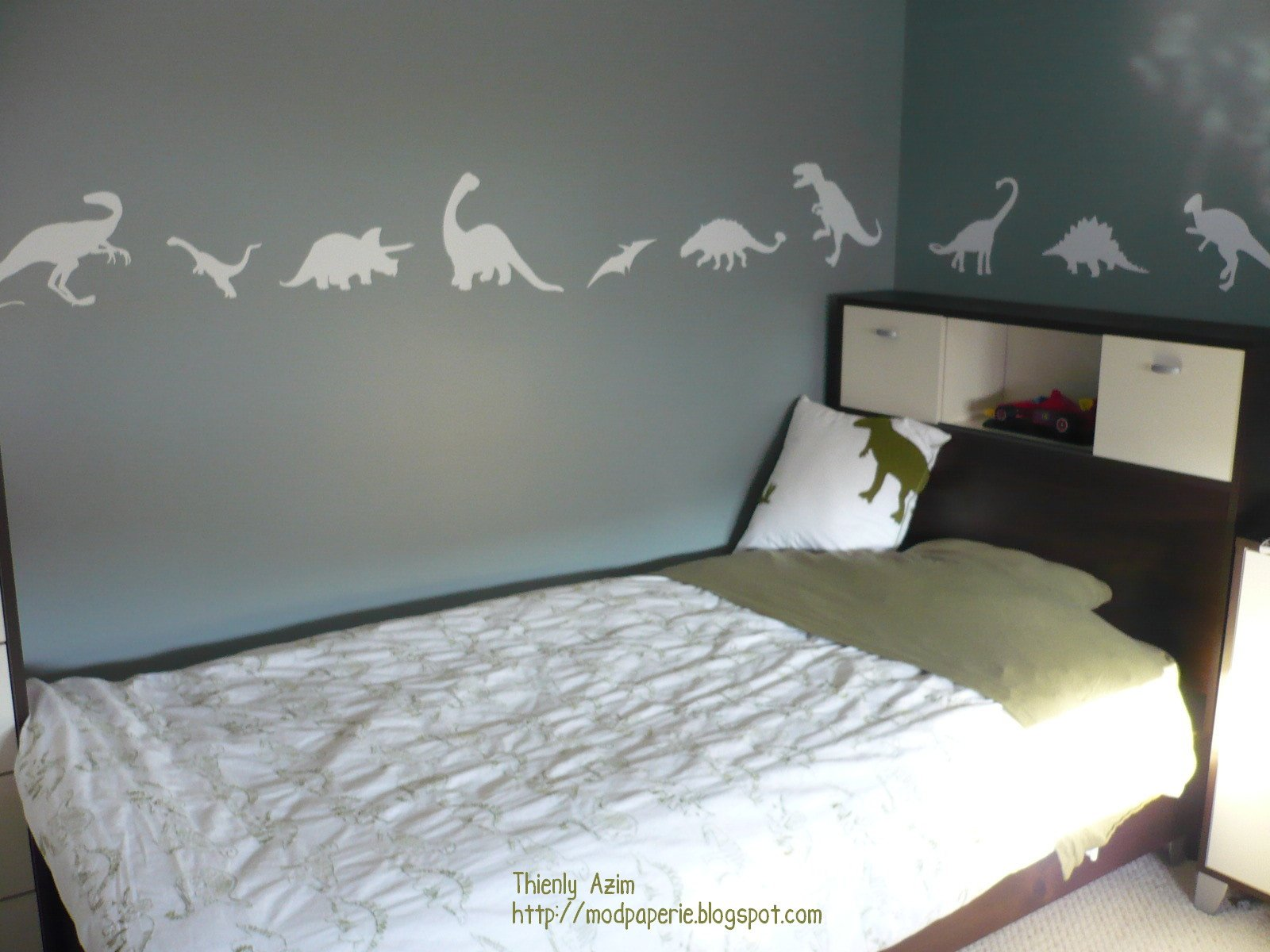 Best Mod Paperie My Son S Dinosaur Room With Pictures