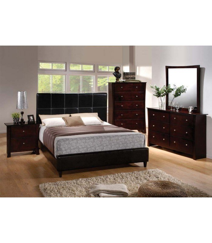 Best 4 Pc Queen Size Bedroom Set By Ridge Collection Us Furniture Discount Inc With Pictures