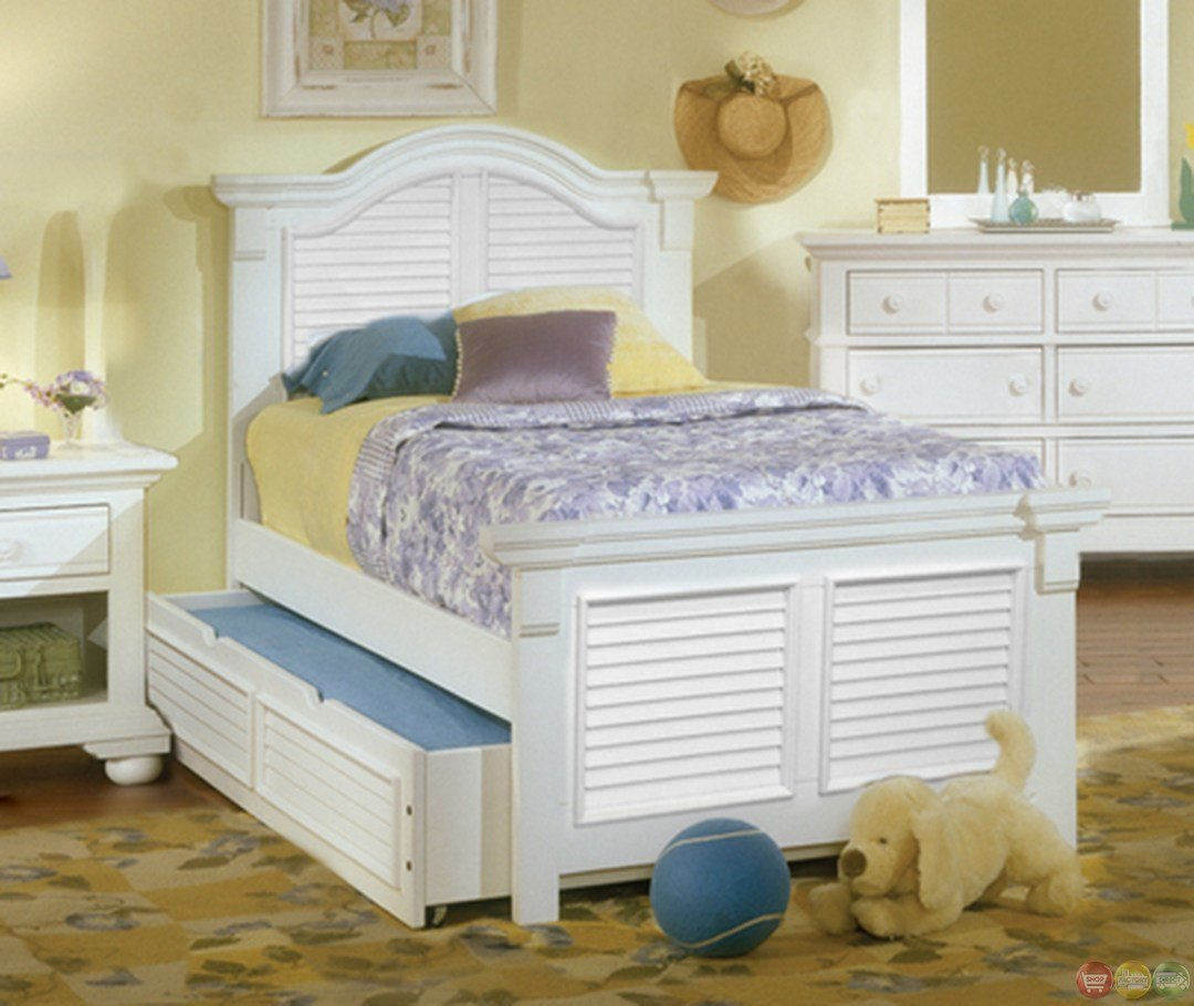 Best Cottage Traditional White Twin Bedroom Furniture Set Free Shipping Shopfactorydirect Com With Pictures