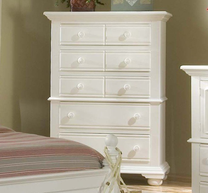 Best Cottage Traditions Distressed White Bedroom Furniture Set Free Shipping Shopfactorydirect Com With Pictures
