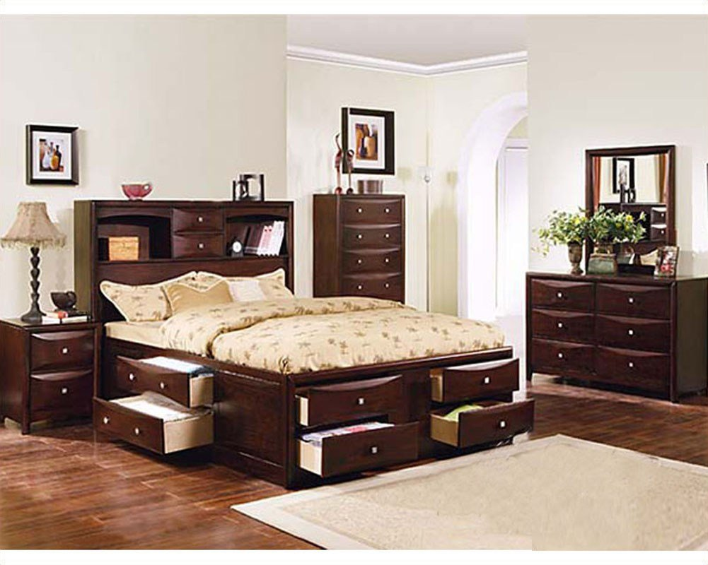 Best Acme Furniture Bedroom Set In Espresso Ac04090Tset With Pictures
