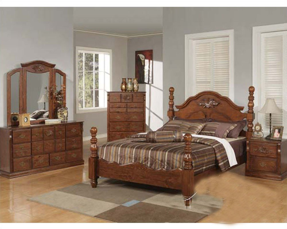 Best Acme Furniture Bedroom Set In Walnut Finish Ac01720Aset With Pictures
