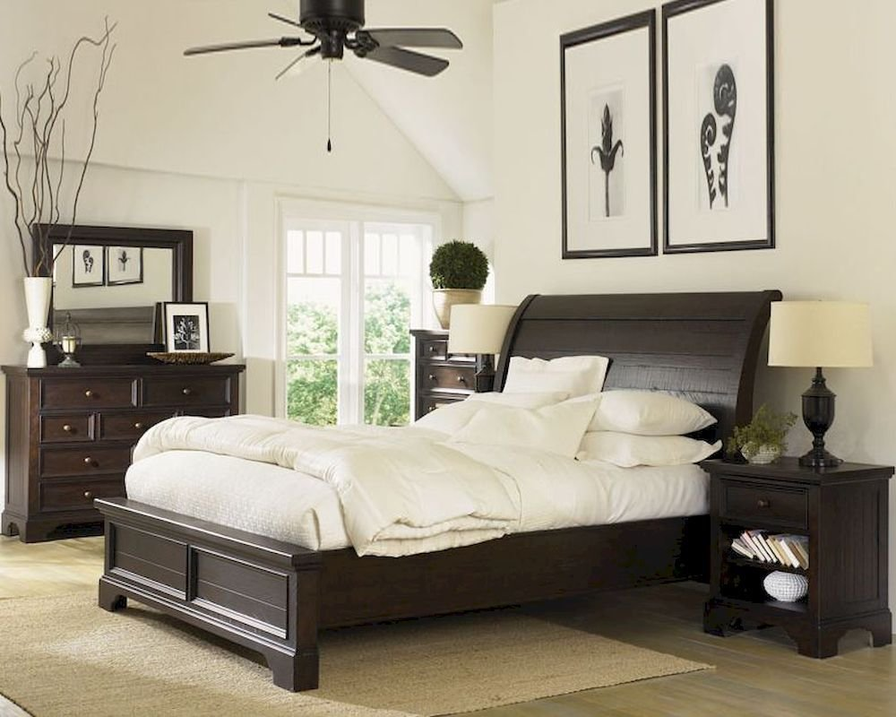 Best Aspenhome Sleigh Bedroom Bayfield Asi70 400Set With Pictures