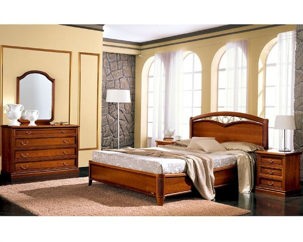 Best Traditional Style Bedroom Set Classic Made In Italy 33B491 With Pictures