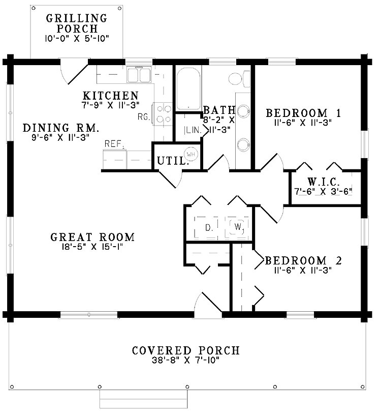 Best 2 Bedroom Cabin Kits 2 Bedroom Cabin House Plans 2 Bedroom Cabin Floor Plans Mexzhouse Com With Pictures