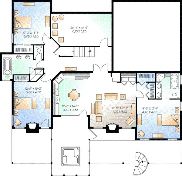 Best 4 Bedroom 3 Bath 2 Story House Plans 4 Bedroom And 2 Baths With Pictures