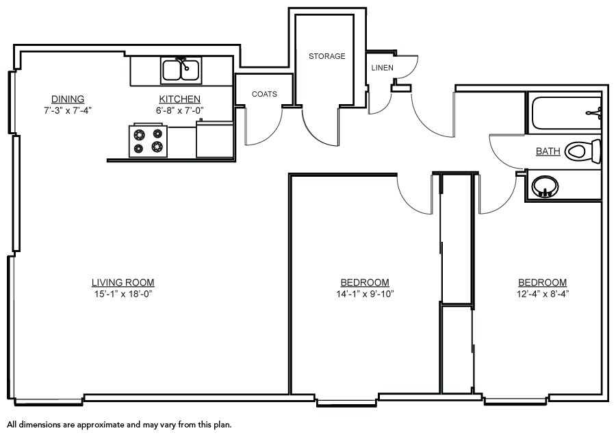 Best 2 Bdr 800 Square Foot House 800 Square Foot House Floor With Pictures