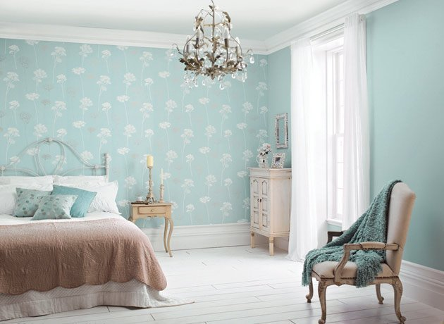 Best Bedroom Wallpaper Feature Wall 3 Decor Ideas Enhancedhomes Org With Pictures