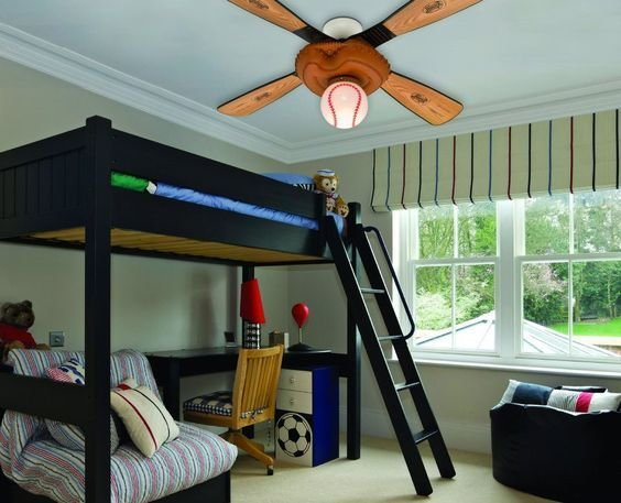 Best Baseball Ceiling Fan Every Ceiling Fans With Pictures