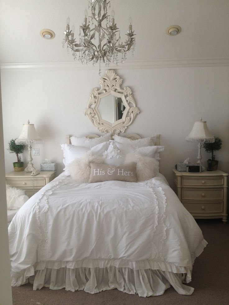 Best Feminine Shabby Chic Bedroom Interior Ideas And Examples With Pictures