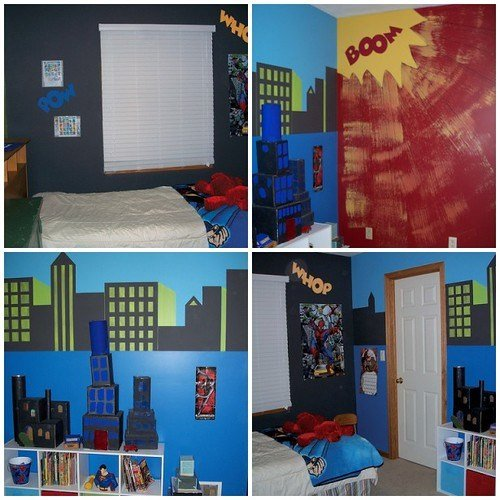 Best Flying Time Designs Comic Book Bedroom With Pictures