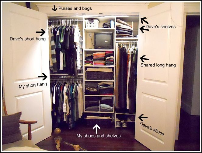 Best How We Organize Our Master Closet Andrea Dekker With Pictures
