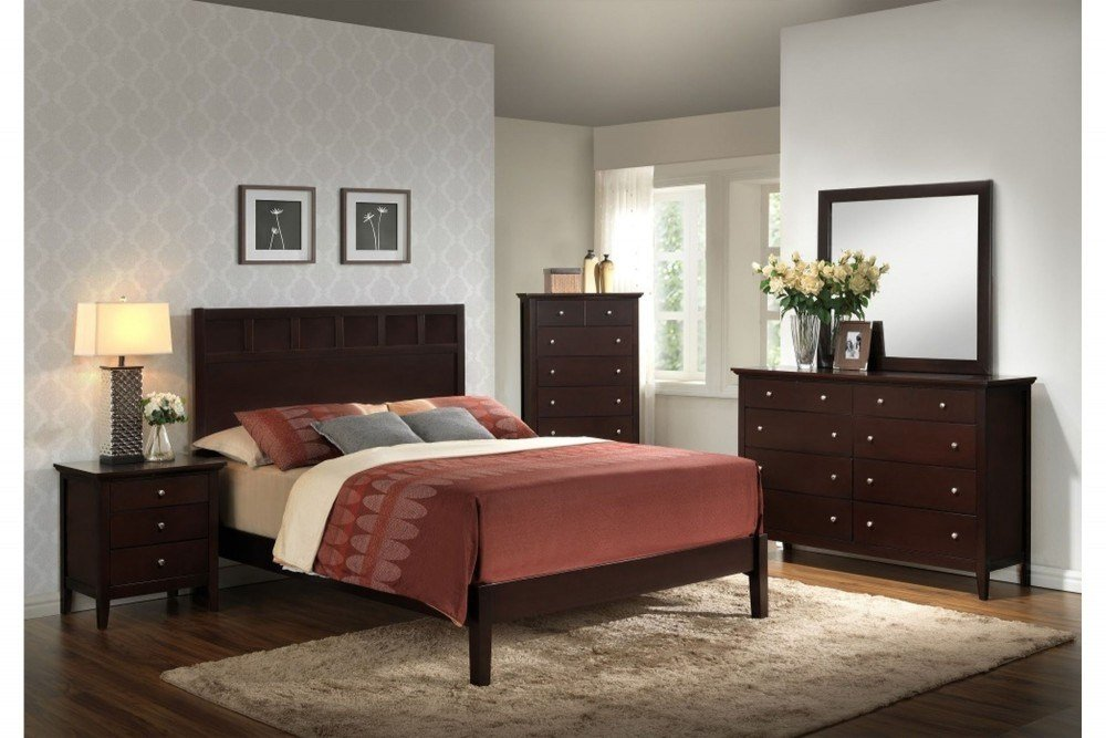 Best 7 Pc Bedroom Set 5125A Bedroom Groups Best Price With Pictures