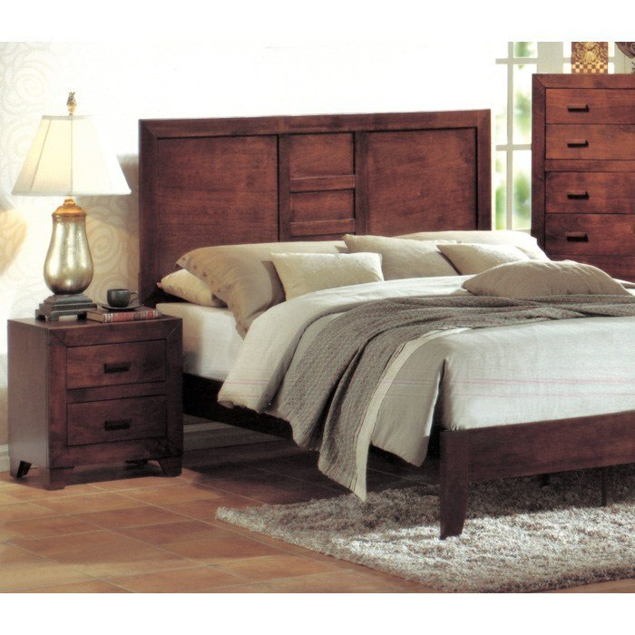 Best Avery 3 Piece Bedroom Set In Cherry Dcg Stores With Pictures