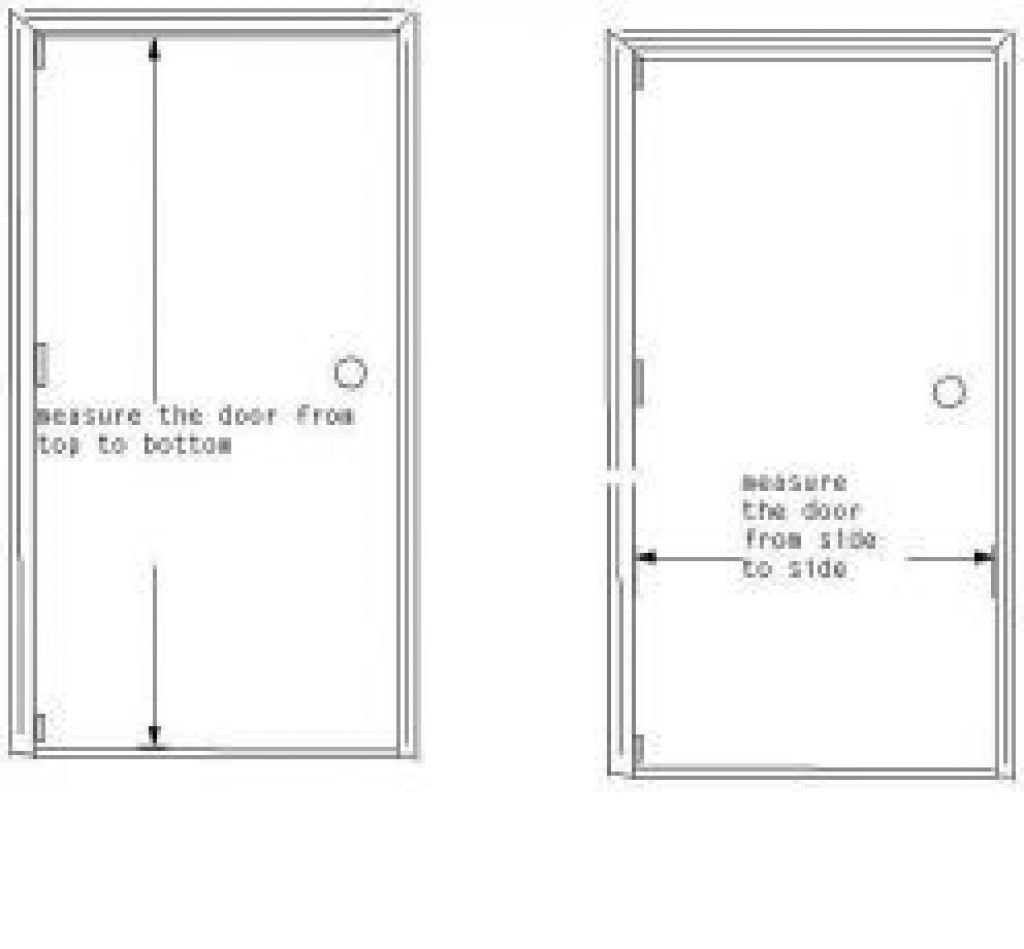 Best Typical Bedroom Door Size 28 Images Standard Door Size With Pictures
